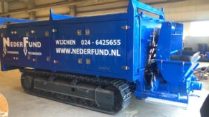 Lebotec heeft onlangs nieuwe betonpompen op rupsen afgeleverd.