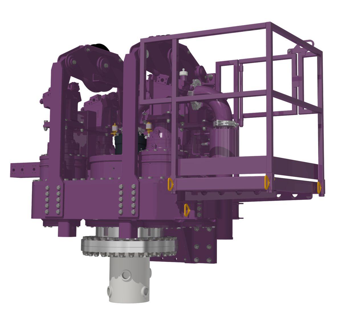 Lebotec delivers a 300 kNm rotary head  - LeBoTec B V