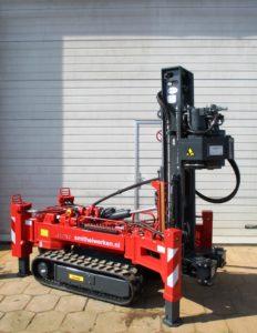 LEBOTEC BV levert nieuwe compact schroefinjectiepaal machine