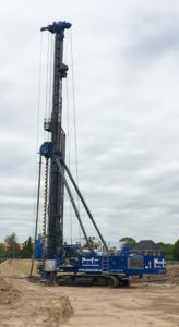 Lebotec delivers new concrete screw pile machine.