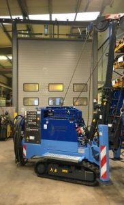Lebotec BV levert nieuwe mini-heimachine type LBT-1.5-H.E. af.